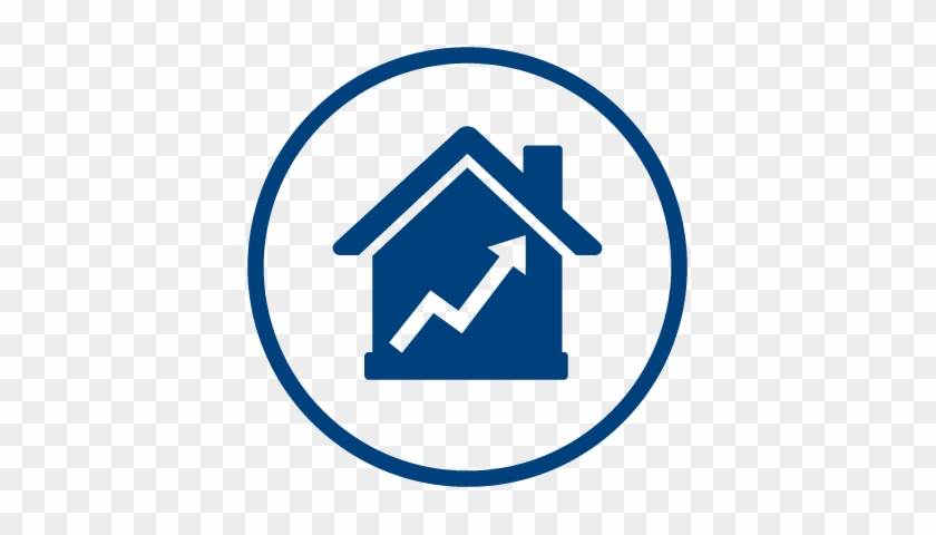 mortgage market reports blue home button png free transparent png clipart images download clipartmax