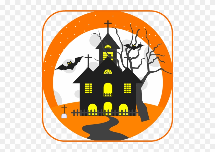 What Other Items Do Customers Buy After Viewing This - Haunted House Clipart Transparent Background #1616173