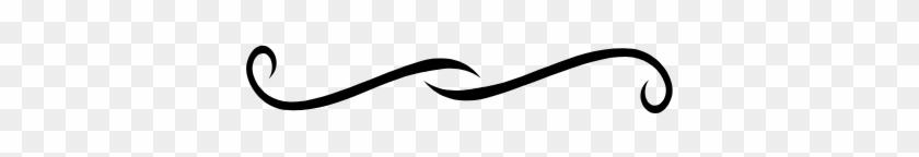 Line Clipart Accent - Swirl Line Clip Art #1617545