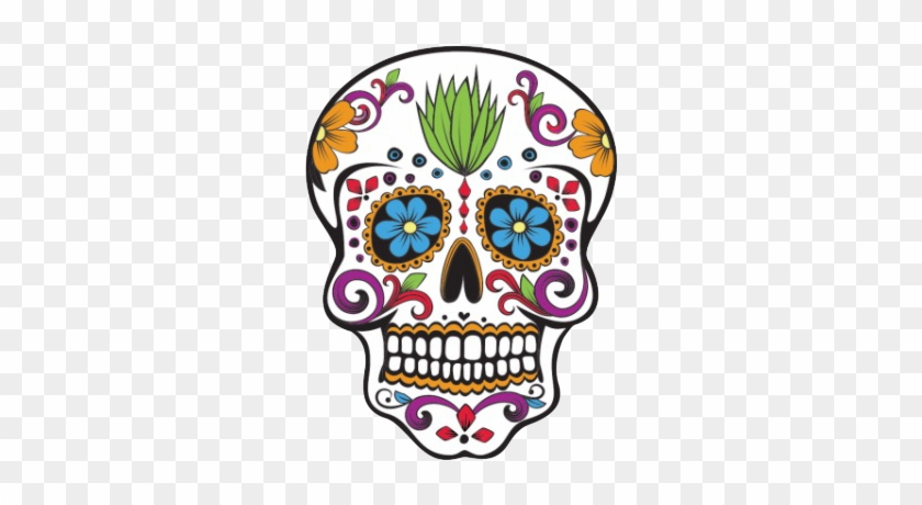 Cinco De Mayo 2017 Creatives' Cupboard - Skull Drawing Dia De Los Muertos #1617905