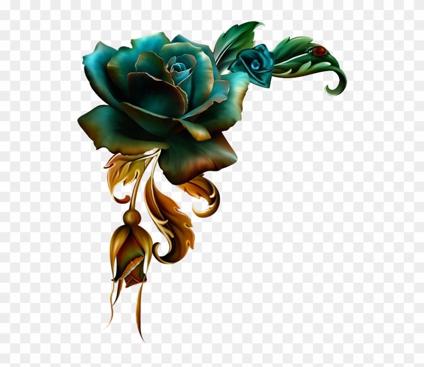 3d Sheets, Frame Background, Flower Designs, Quilling - Jaguarwoman Lidia Tube Png Moonbeam Roses #1618533