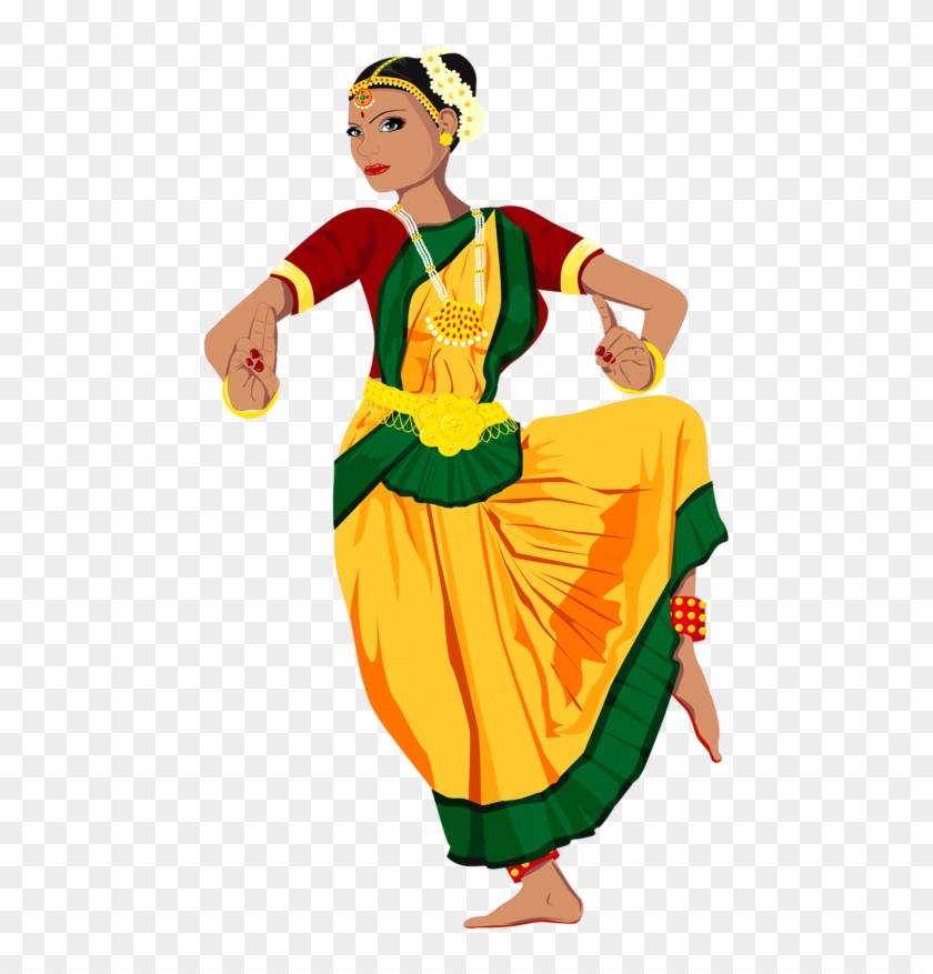 Personnages Indian Classical Dance Clipart Free Transparent Png Clipart Images Download