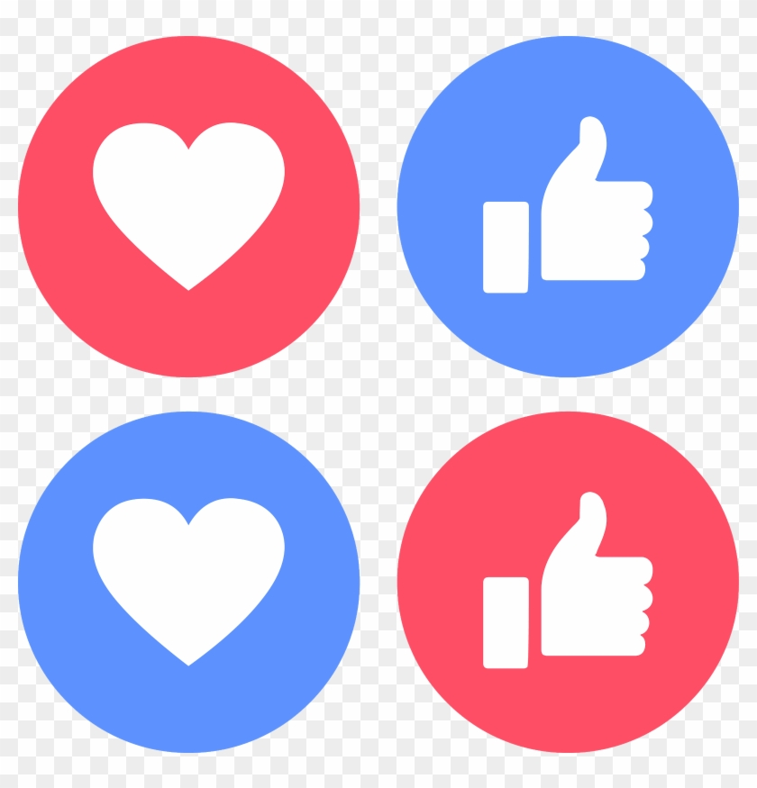Download Icons Like Love Facebook Svg Eps Png Psd Ai Emoticones De Facebook Png Free Transparent Png Clipart Images Download