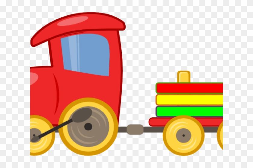 Train Clipart Snowman - Clip Art Toy Train #1619730