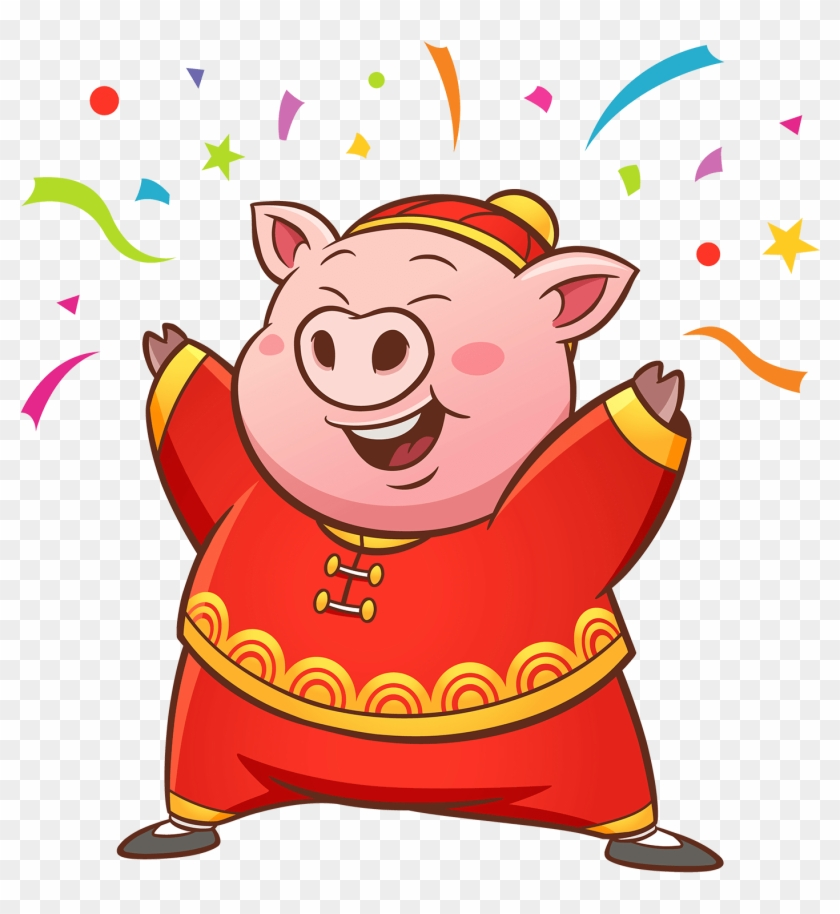 Have You Been Hearing The Traditional Chinese New Year - Pig Vector Png #1619734