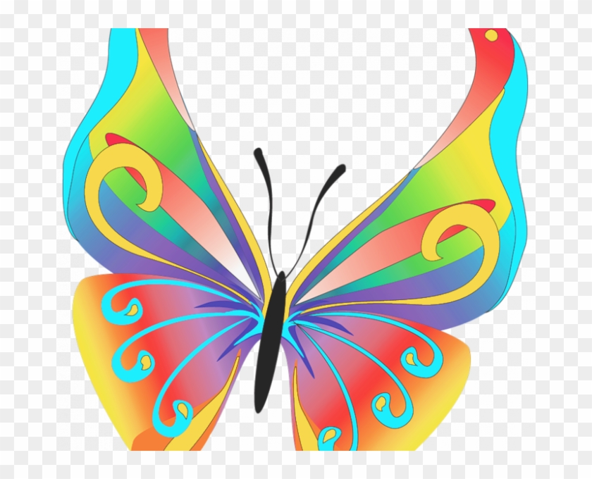 Free Butterfly Clipart Free Butterflies Cliparts Download - Colorful Butterfly Tattoos #1620739