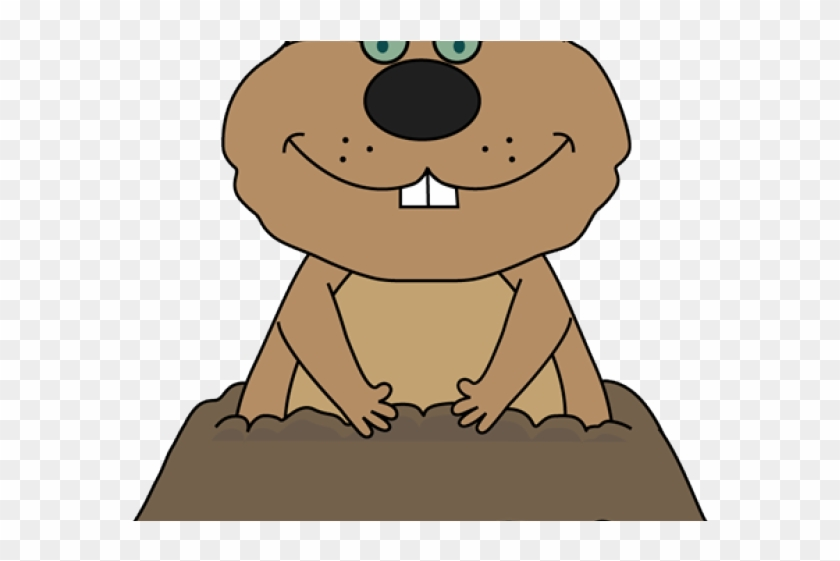Groundhog Clipart Glass - Cute Groundhog Day Clipart #1620800