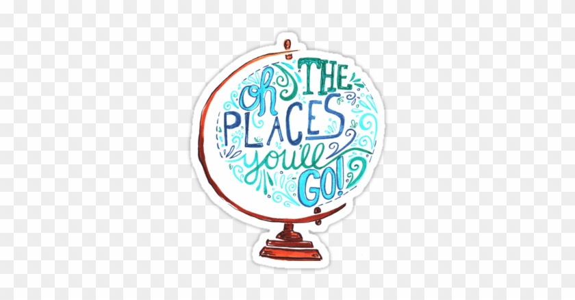 image relating to Oh the Places You Ll Go Balloon Printable Template called Oh The Spots Youll Shift Clipart Free of charge