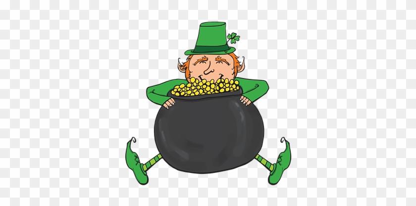 Leprechaun, Patrick, Shamrock, Irish - Cartoon - Free ...
