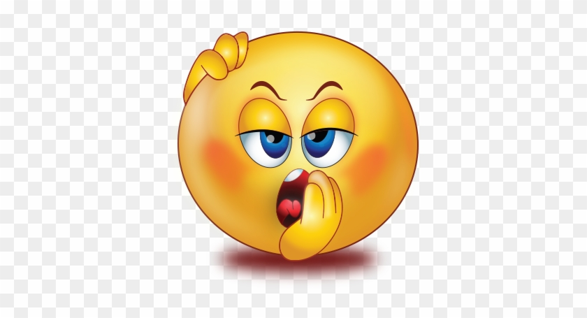 Sleepy Yawn Smiley Emoji Sticker - Emoji - Free Transparent PNG
