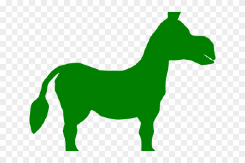 Scorpion Clipart Donkey - Donkey From Shrek Silhouette #1622508