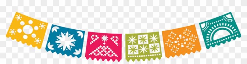 Fiesta Banner Scroll Banner Banner Clipart - Papel Picado Clipart ...