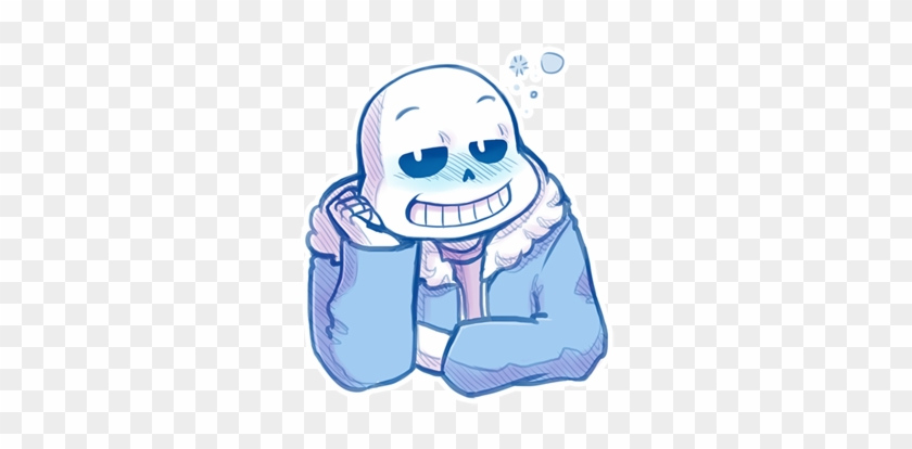 Welcome To The Bone Zone - Sans The Skeleton Blushing #1623612