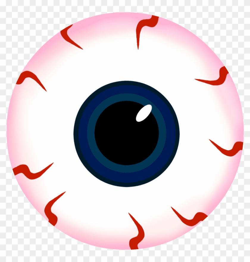 Scary Eyes Clipart Halloween Slush Drink With Eyeball - Eyeball Png #1623789
