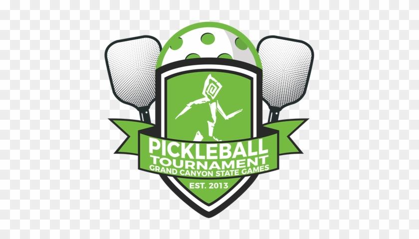 461 X 416 0 - Pickleball Tournament Logo #1624363