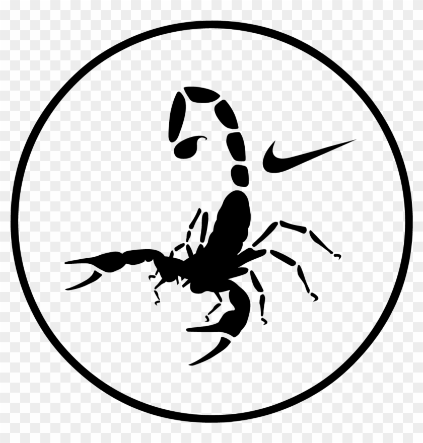 Drawn Scorpion Svg Scorpion Nike Free Transparent Png Clipart