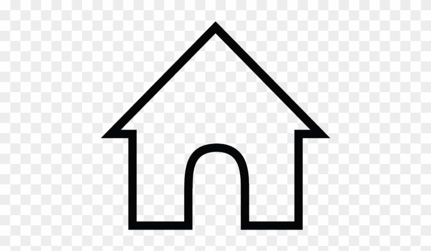 White House Clipart House Symbol - Family Pre K Coloring Page #1625399