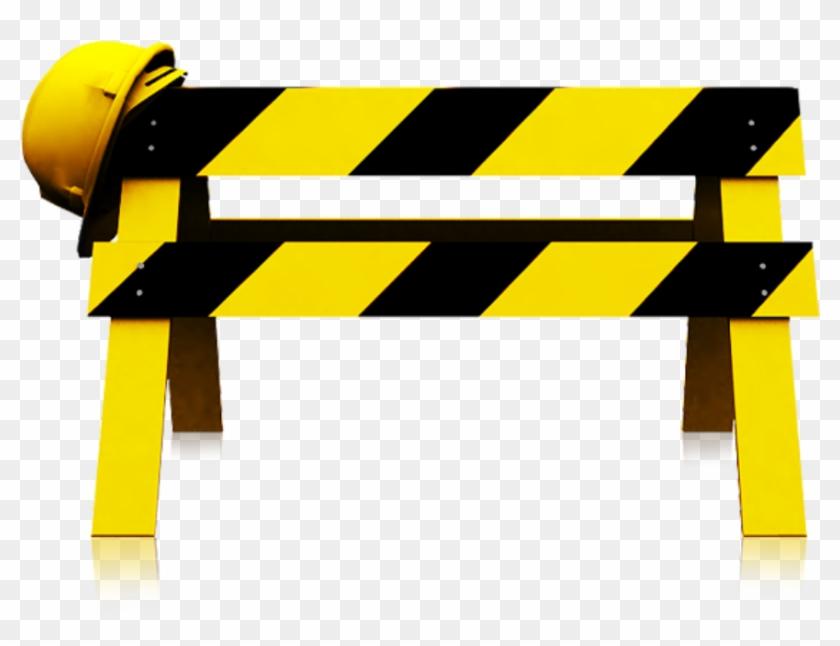Under Construction Barrier Cartoon #1626516