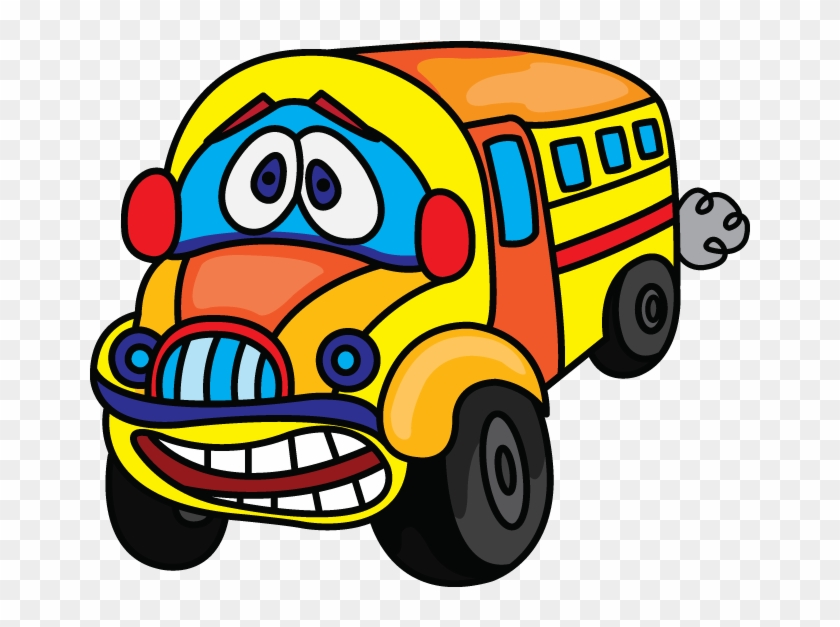 Clip Art Draw School Bus - Draw A School Bus #1627681