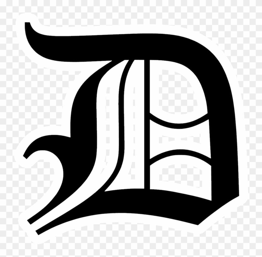Daleville Broncos - Old English Text Mt D #1628123