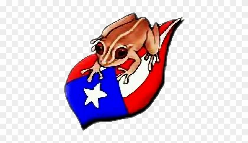Puertorico Sticker Coqui Puerto Rico Flag Free Transparent Png Clipart Images Download