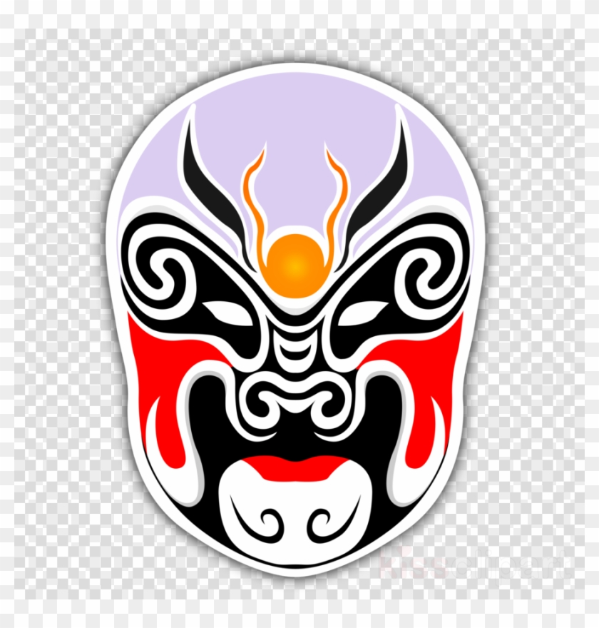 Chinese Theater Mask Clipart Mask Peking Opera Chinese Chinese Opera Masks Png Free Transparent Png Clipart Images Download