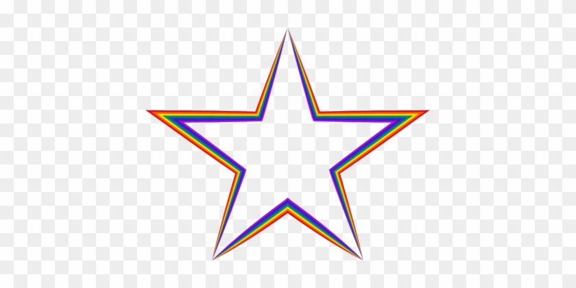Military Aircraft Insignia Five Star Services United - Rainbows Star Icon #1629108