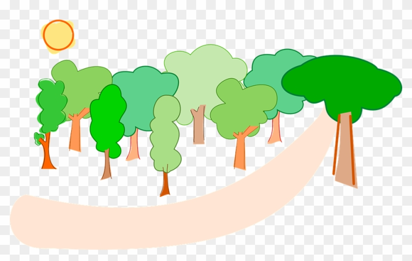 Trees Forest Nature Landscape Environment - Forest Clipart #251214