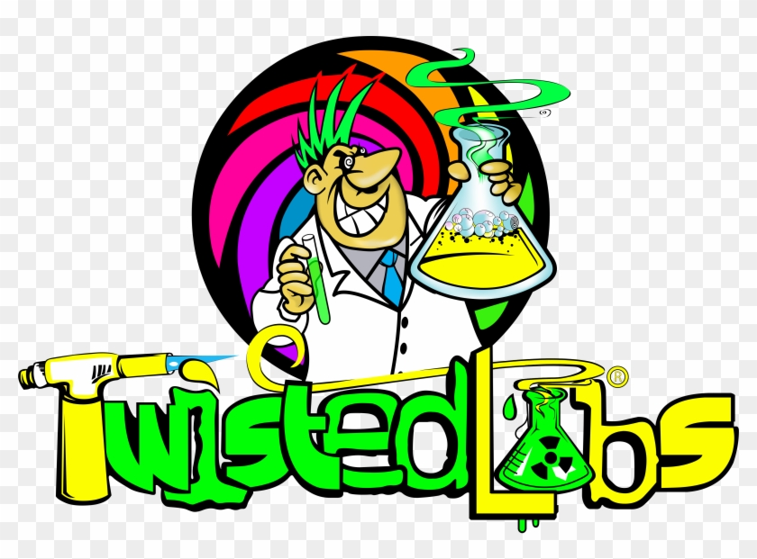 Water Pipes And Other Top Sellers Smokers Love Check - Twisted Labs Logo #251404