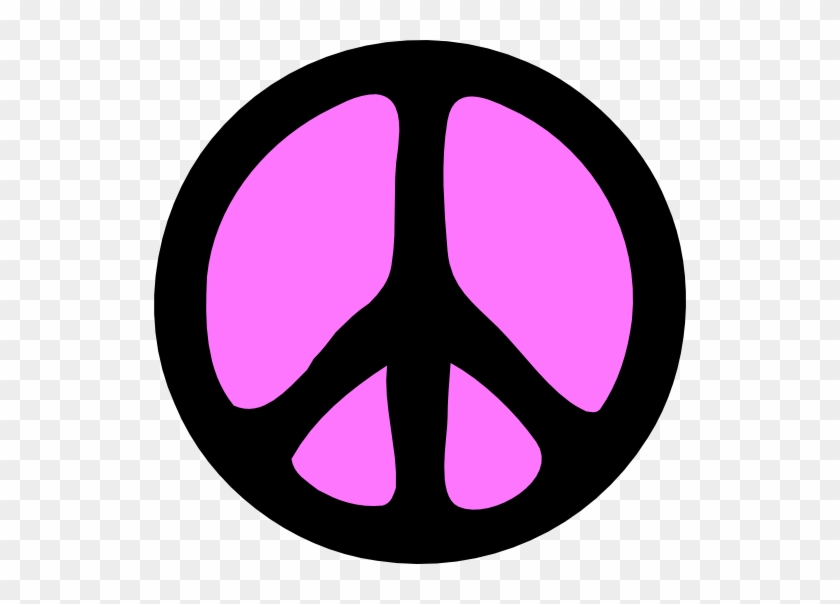 Pink - Peace - Sign - Clipart - Rainbow Ritchie Blackmore's Rainbow #251845