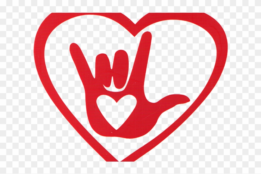 Sign Language I Love You Mom Clipart - White Sign Language I Love You Hand Car Sticker #251934