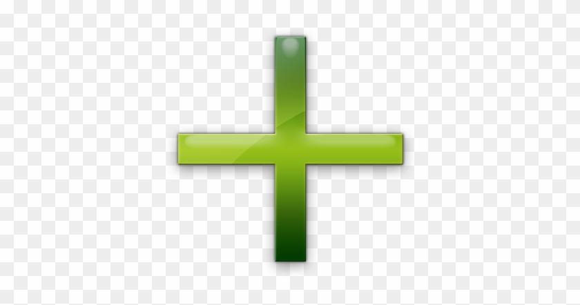 Elegant Plus Sign Clipart Plus Symbol Green Clipart - Green Plus Sign Icon #252046