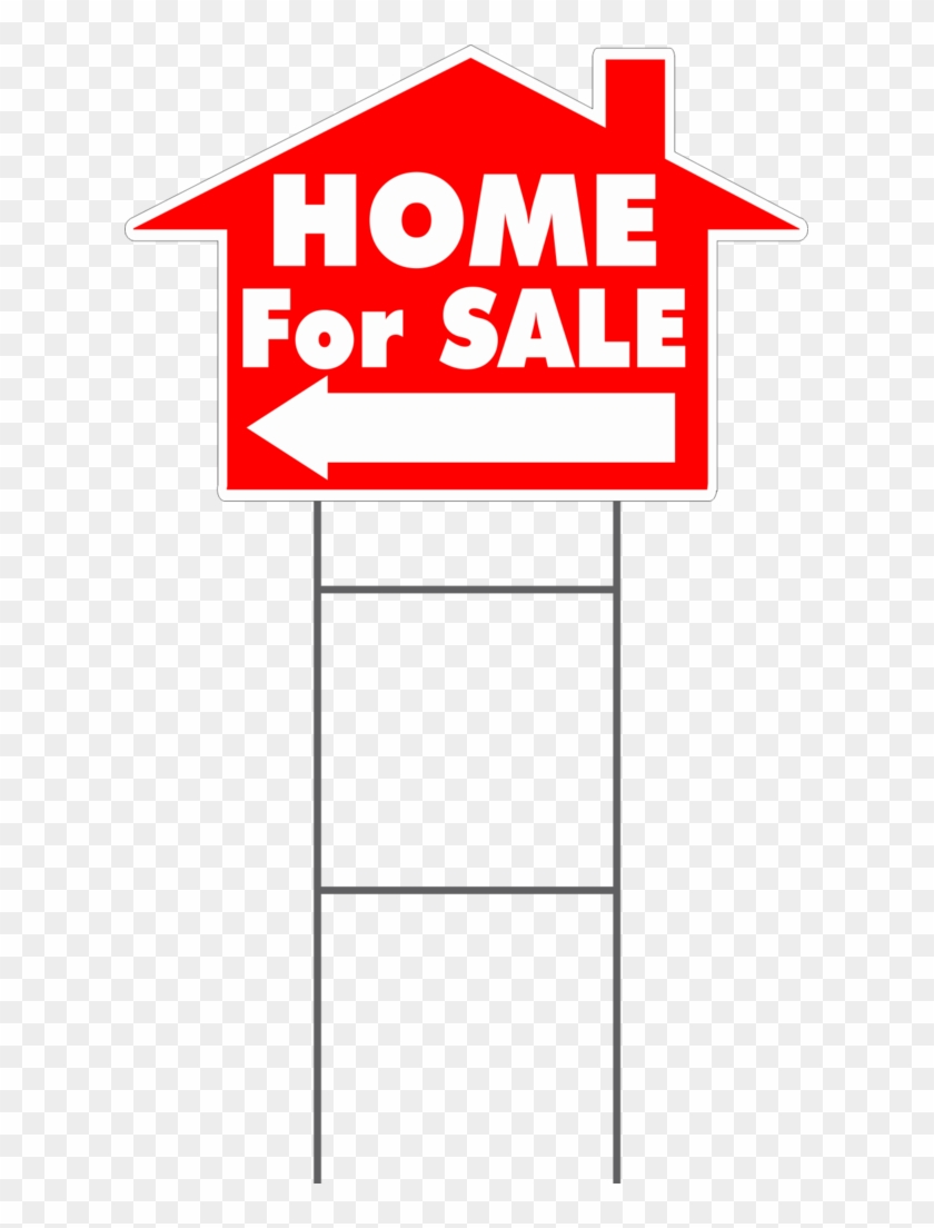 Home For Sale House Shaped Yard Sign - House #252055