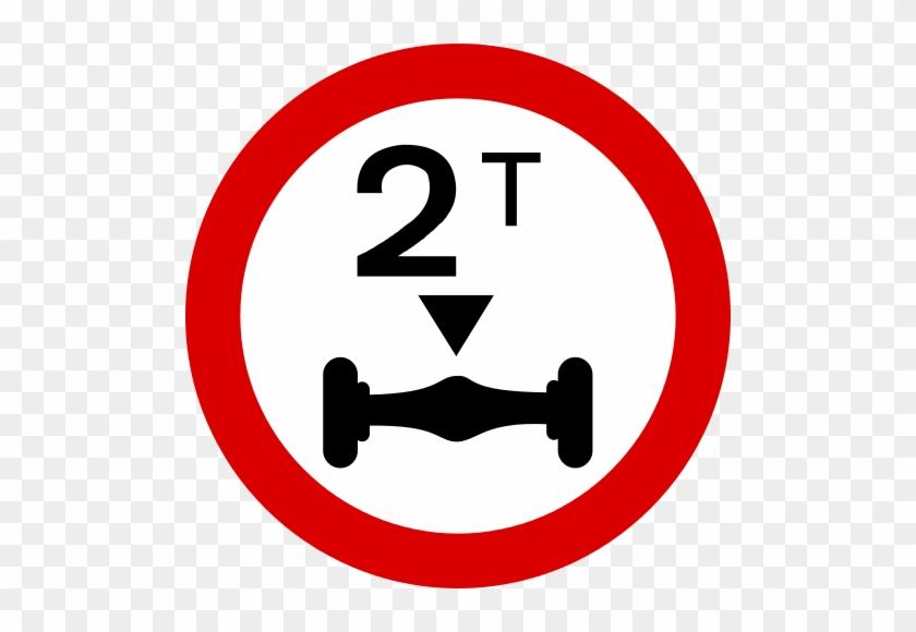 Mauritius Road Signs - Weight Limit Road Signs #252377