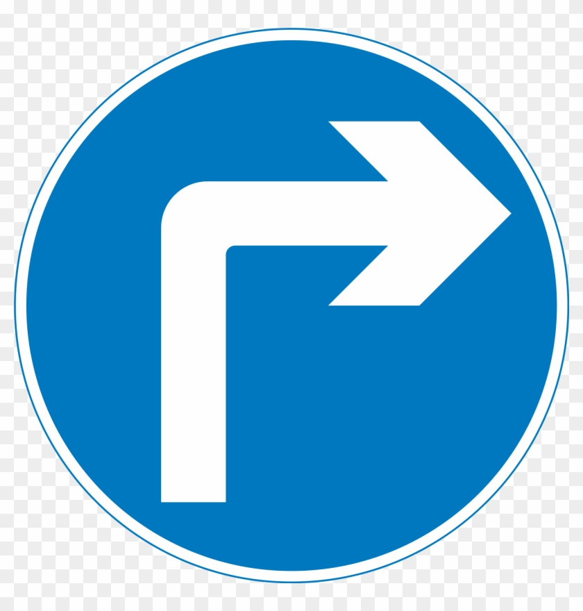 Uk Traffic Sign 609a - Road Signs Uk Turn Left #252385