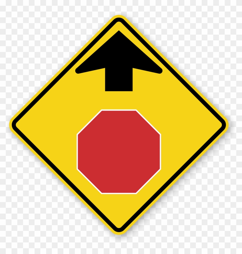 Zoom, Price, Buy - Stop Sign Ahead Sign #252408