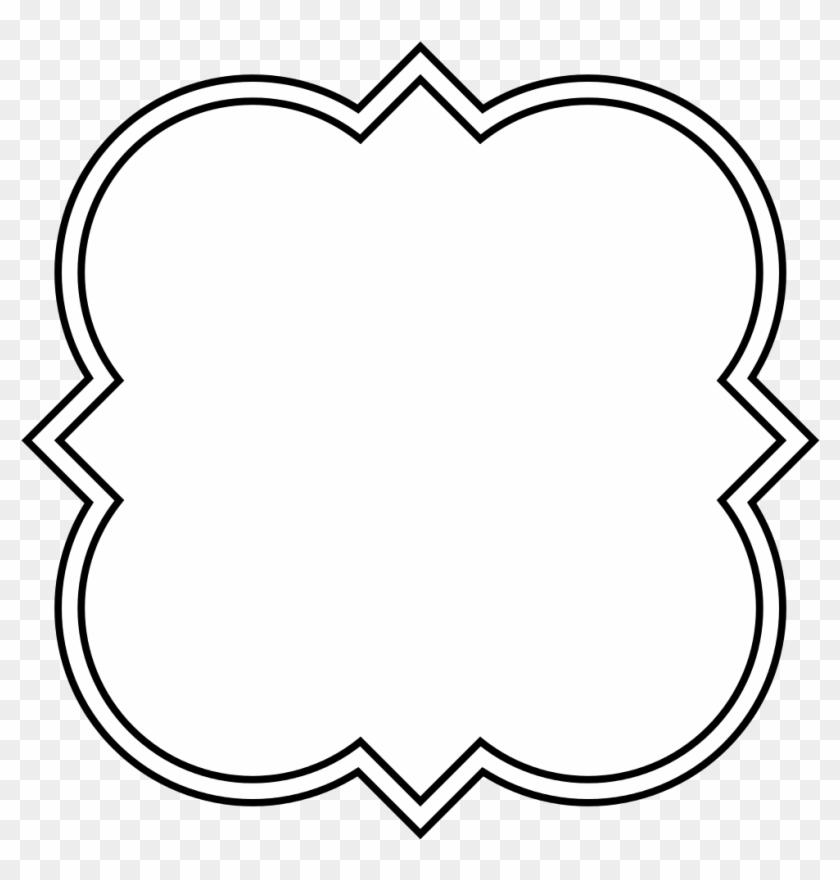 Shapes Clipart Quatrefoil