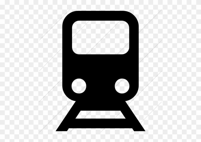 Ocha Humanitarian Icons Logistics Train Icon - Train Station Icon Vector #252439