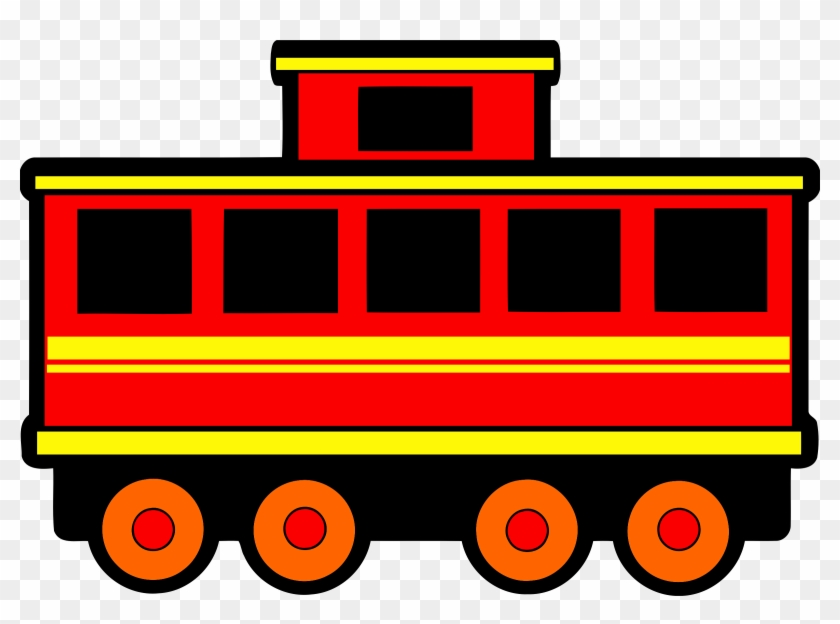 Big Image - Train Carriage Clipart #252440