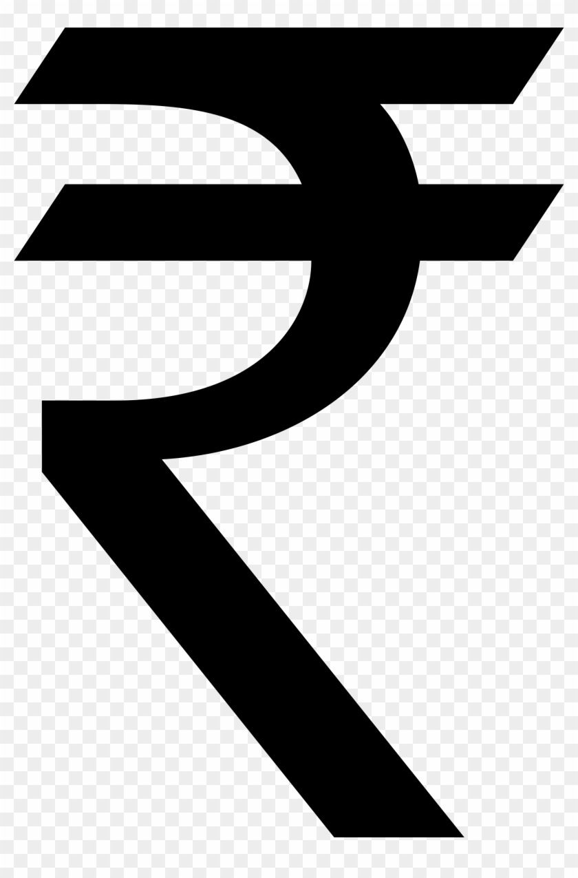 28 Collection Of Rupee Symbol Clipart - Indian Rupee Symbol #252983