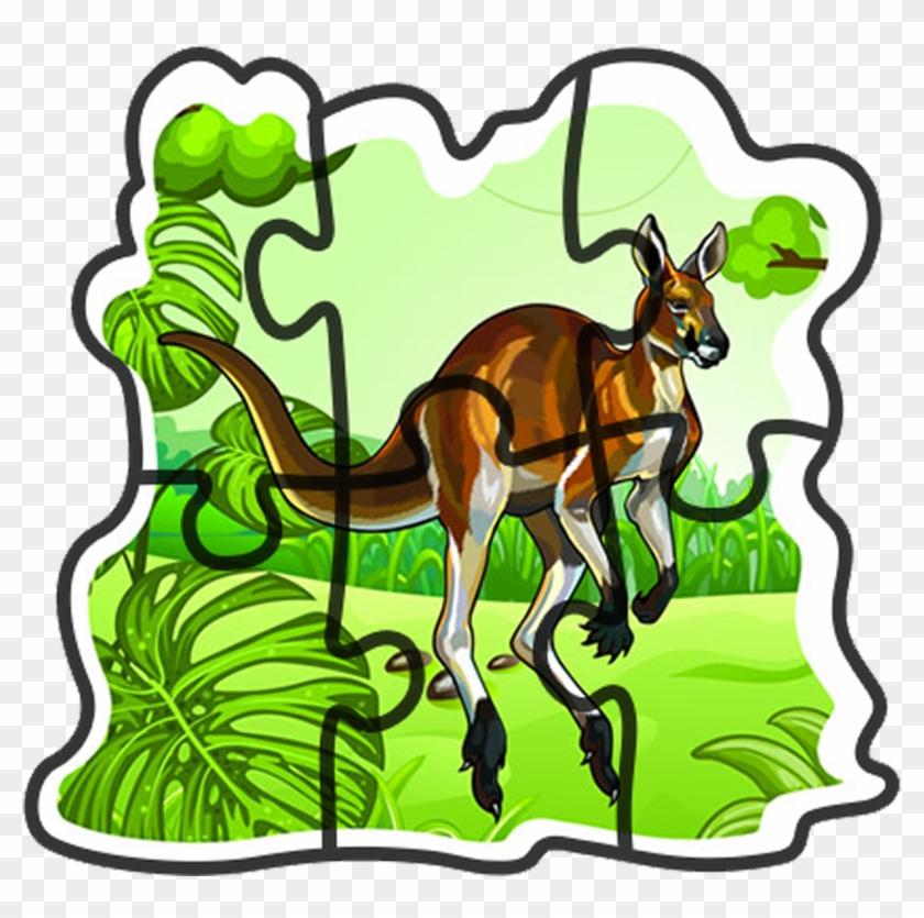 Puzzle Jungle Animals #253263