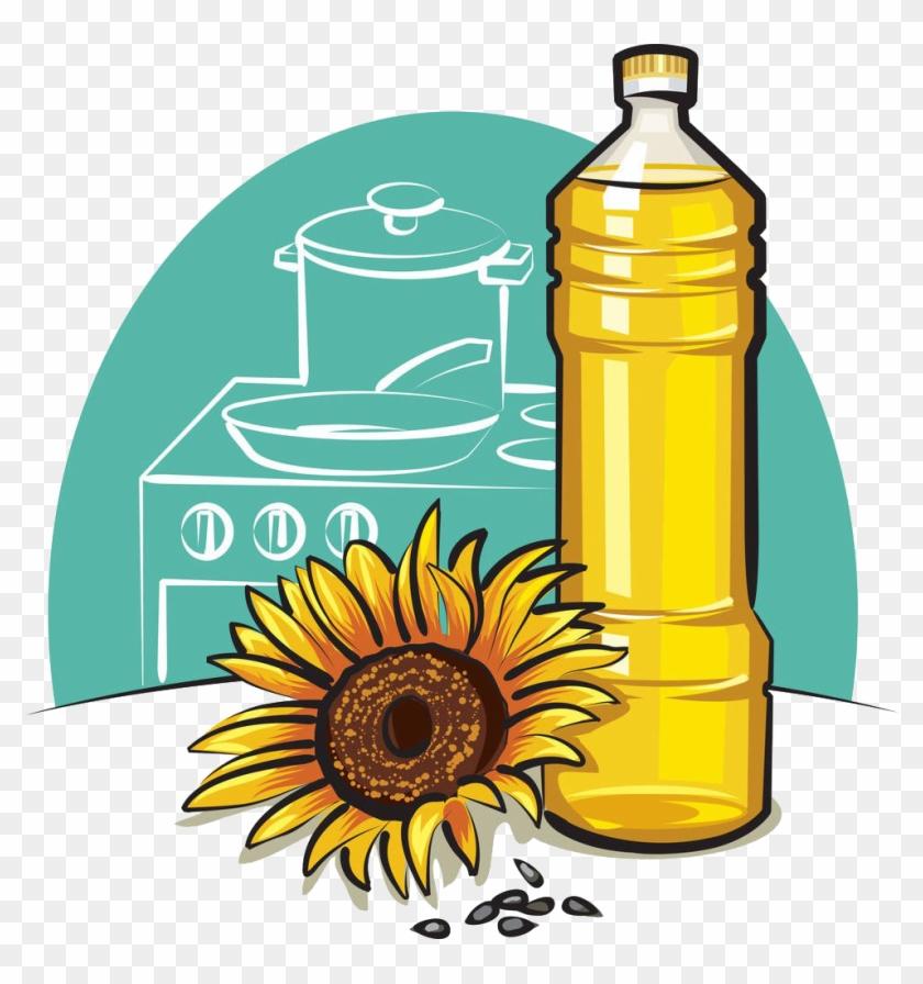Vegetable Oil Cooking Oil Bottle Clip Art - Vegetable Oil Clipart #253333
