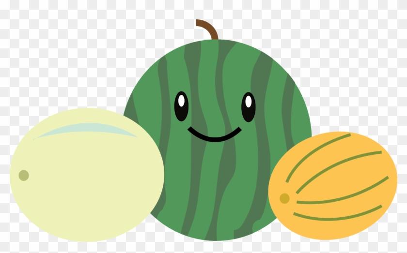 Pineapple Berries Watermelon Tropical Orange Melon - Melon #253354