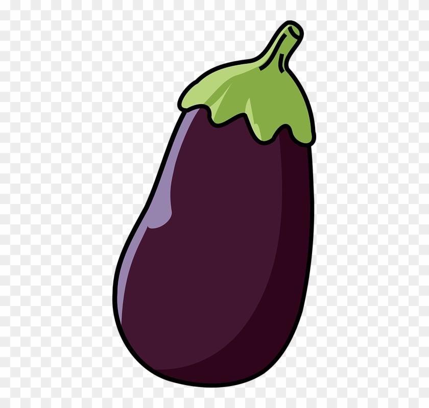 Eggplant Clip Art At Clker - Eggplant Clipart #253574