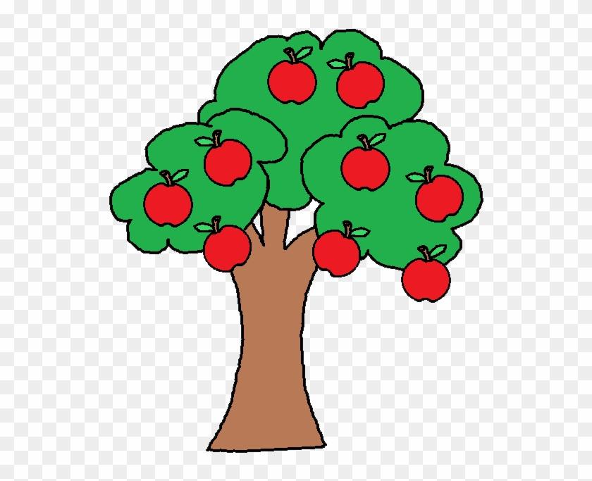Apple Tree Clipart - Clip Art Apple Tree #253658