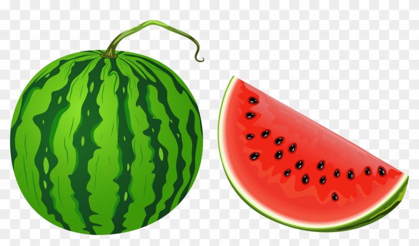 Watermelon - 2 Watermelon Clipart #253736
