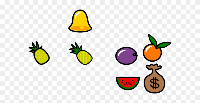 Fruit Clip Art At Clker - Custom Pineapple Icon Shower Curtain #253738