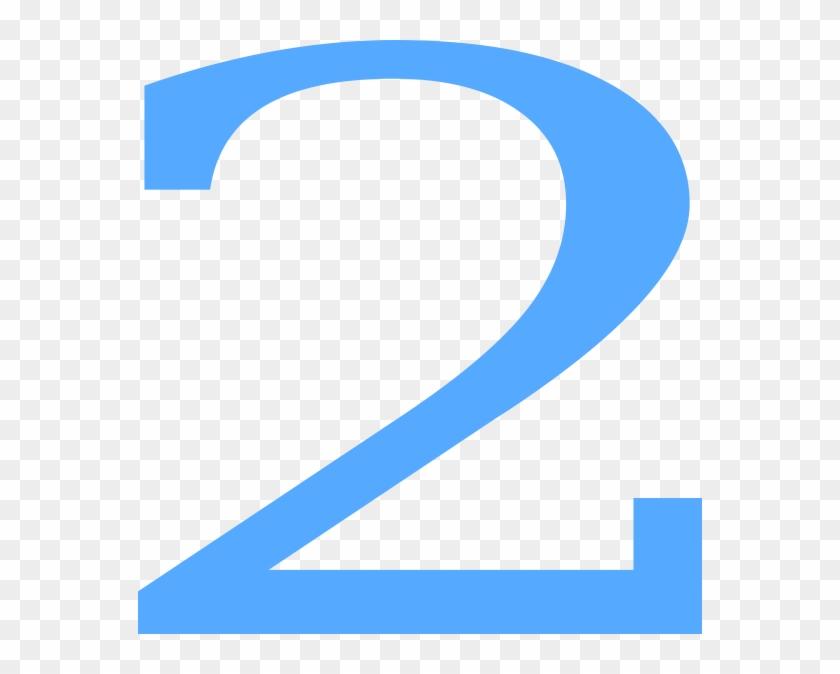 2 Countdown Clip Art At Vector Clip Art Online - Blue Number 2 Clipart #254043