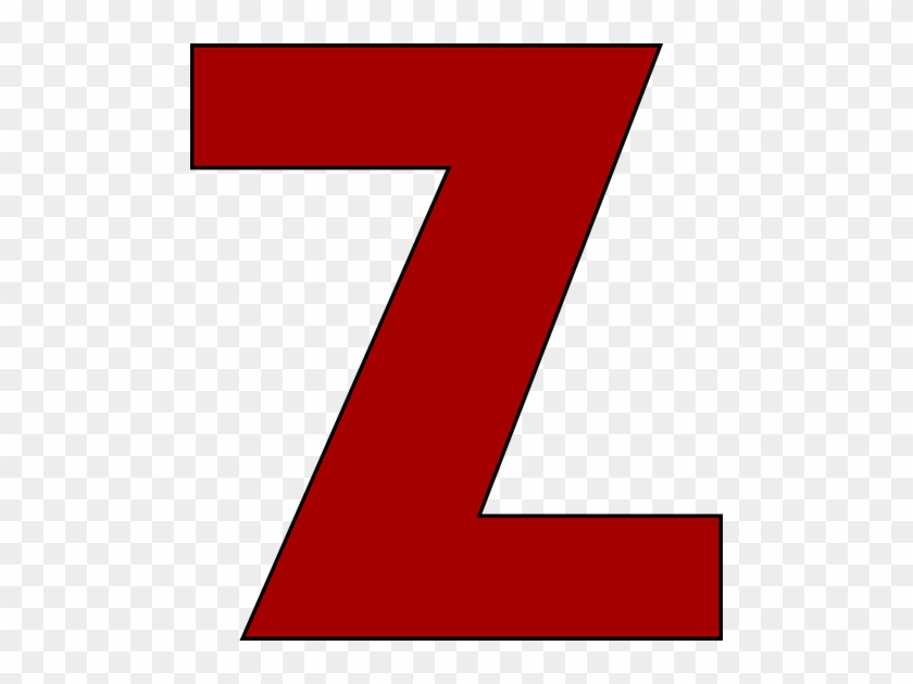 Red Letter Z Clip Art Image Alphabet Clipart Letter Z Clip Art