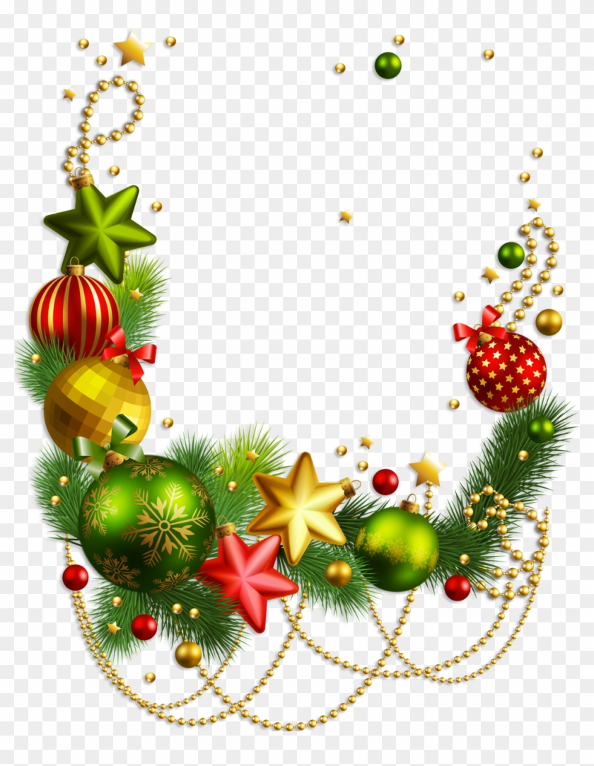 Transparent Clip Art Christmas Decorations Christmas Border
